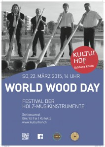 Plakat World Wood Day