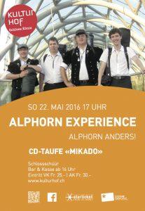 AlpEx CD-Taufe